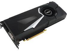 MSI GeForce GTX 1080 AERO 8G OC, 8GB, 256-Bit, GDDR5X, DX12, PCIe Graphics Card