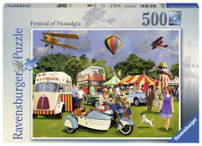 RAVENSBURGER*PUZZLE*500 TEILE*FESTIVAL OF NOSTALGIA*RARITÄT*OVP