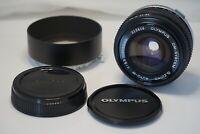 [MINT w/Hood] OLYMPUS G ZUIKO AUTO W 28mm f/3.5 Wide Angle Lens from JAPAN #58