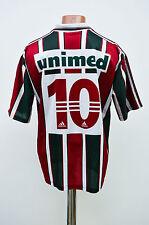 FLUMINENSE BRASILE ANNI 1990 Calcio Casa MAGLIETTA JERSEY CAMISETA ADIDAS #10