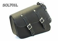 Motorcycle Two Strap Leather Solo Bag for Harley Sportster XL1200V Seventy-Two