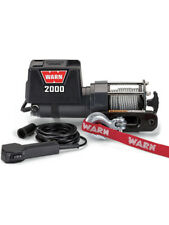 WARN 12v Utility Winch 10.7m Wire Rope Dc2000-92000 8860703378