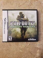 Nintendo DS Call of duty 4 Modern Warfare