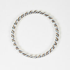 Tiffany & Co. Sterling Silver Twisted Round Bangle Bracelet