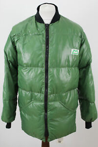 DOLOMITE Mountain Equipment Green Down Jacket size L