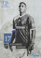 Jefferson FARFAN + FC Schalke 04 + Saison 2013/2014 + Original Autogrammkarte
