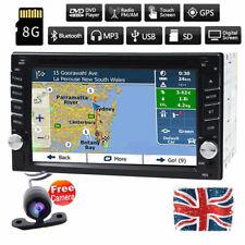 "Car DVD Player Stereo Auto Radio GPS Sat Nav 6.2"" Touch Screen Bluetooth+Camera"