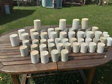More details for 50 x antique preserve marmalade pots, hartley, co-op, faulders,gray, maling