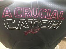 NFL Hologram Buffalo Bills Breast Cancer A Crucial Catch Mens Sz M