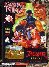 Kasumi Ninja Atari Jaguar in Box with Manual No Head Band
