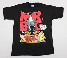 Vtg 1990s Mr. Big T-Shirt Large concert tour lean into it eric martin hard rock