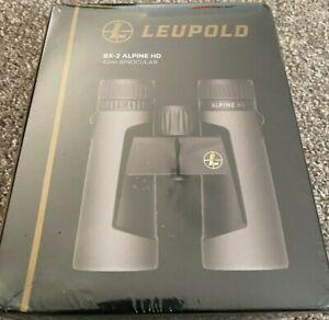 LEUPOLD BX-2 ALPINE HD 10X42 ROOF GREY BINOCULARS