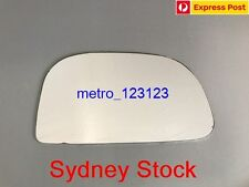 RIGHT DRIVER SIDE MITSUBISHI LANCER MIRAGE 1996 - 2003 MIRROR GLASS ONLY