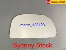 RIGHT DRIVER SIDE MITSUBISHI LANCER CE 1996 - 2003 MIRROR GLASS ONLY