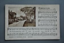 R&L Postcard: Rimington, Francis Duckworth, The Gramophone Promo, Music Song