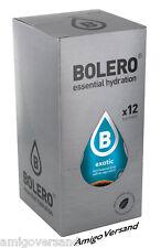 Bolero Drinks – Exotic Instant Drink 12 Sachets for 18-36 Litre