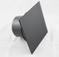Ventilator Lüfter Badlüfter mit integrierte Rückschlagklappe Glasfront Made inEU