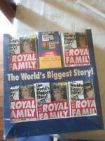 The Royal Family Trading Cards 1993 Princes Diana Sealed Jumbo Box (50) Packs