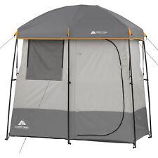 Ozark Trail 2 Room Camping Shower Tent Portable Bath Shelter Outdoors Bathroom