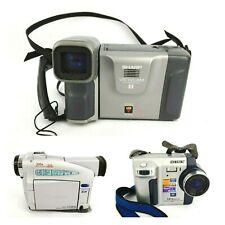Camera Lot Sharp Viewcam VL-E750U, Canon ZR25MS Mini DV, SONY MVC-FD75 FD Mavica