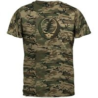 Grateful Dead - Steal Your Face Camo T-Shirt