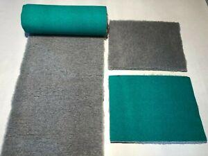 Grey Vet Bed Dog Whelping Fleece Traditional Greenback  14 Sizes Freepost