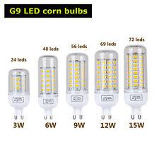 Blanco Puro Maíz Lámpara  Bombilla 3W 6W 9W 12W 15W SMD 5730 E27 E14 B22 G9 LED