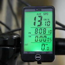 SD-576A Fahrrad Fahrradcomputer Fahrradtacho Tachometer Kilometerzähler PU