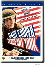 SERGEANT YORK TWO-DISC SPECIAL EDITION THINPACK CASE WARNER DVD FREE SHIPPING