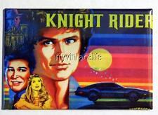 "Vintage Knight Rider Tv Show Lunchbox 2"" x 3"" Fridge Magnet Art"