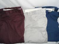 NEW MENS GENTS EX NEXT COTTON LINEN MIX SLIM FIT CASUAL PANTS TROUSERS 300+SOLD