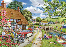 The House Of Puzzles - 1000 PIECE JIGSAW PUZZLE - Sunday Lunch in the Sun