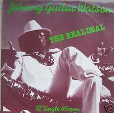 """JOHNNY GUITAR WATSON - The Real Deal ~ 12"""" Single PS"""