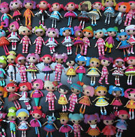 LOT OF 15 Mini Lalaloopsy Doll FIGURES by random #dde3