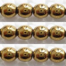 40 Perles Hématite non magnétique 10mm