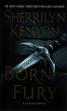 Sherrilyn Kenyon  Born of Fury   A League Novel  Paranormal Romance Pbk NEW Book
