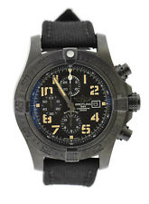 Breitling Super Avenger II Chronograph Blacksteel Watch M133715N/BD55-155S