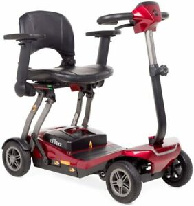 NEW Invacare Scorpious AUTOFOLD Mobility Scooter 4MPH