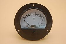 Dc 0 10v Round Analog Voltmeter Voltage Panel Meter Dia 90mm Directly Connect