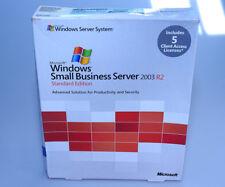Microsoft Windows Small Business Server 2003 SBS R2 Standard, T72-01411, 5CAL