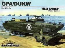 20088/ Squadron Signal - Walk Around No 10 - GPA/DUKW - TOPP HEFT