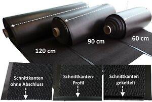 Aktion Schmutzfang Meterware Teppich Läufer Prag 60 90 120 cm breit Anthrazit