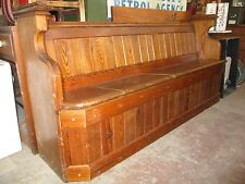 Bespoke period Pews or settles made to order from Victorian pews from £399