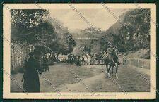 Firenze Città Militari Equitazione Fotografo cartolina QQ2173