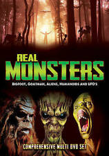 Real Monsters: Bigfoot, Goatman, Aliens, Humanoids and UFOs (DVD, 2016,...