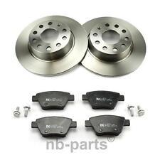 Brake Discs + Brake Pads Rear ø272 Full VW Golf 6 Jetta 4 Scirocco TOURAN