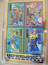 Skybox Ultraverse Trading Cards Promo #252 oversized card Acrylic Case c7377
