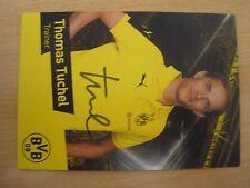 original Thomas Tuchel- Autogrammkarte,Fussball,Sport