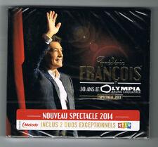 FRÉDÉRIC FRANÇOIS - 30 ANS D'OLYMPIA - SPECTACLE 2014 - 2 CD SET - NEUF NEW NEU