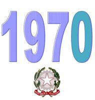 ITALIA Repubblica 1970 Singolo Annata Completa integri MNH ** Tutte le emissioni